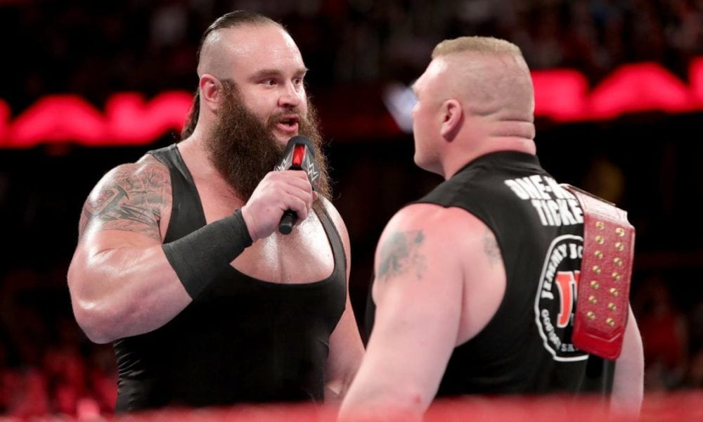 Big Stipulation Match Announced For WWE TLC, Brock Lesnar Vs. Braun Strowman Update