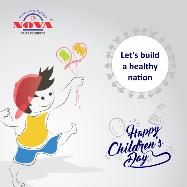 This #ChildrensDay, make a healthy promise for a healthier nation. #NovaDairy