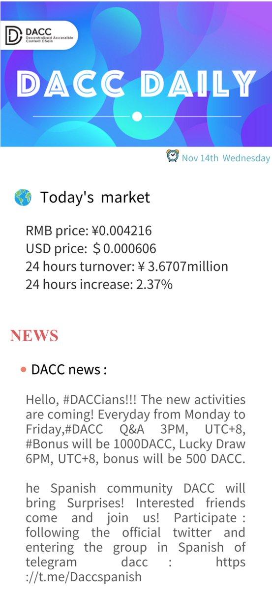 DACC on Twitter: