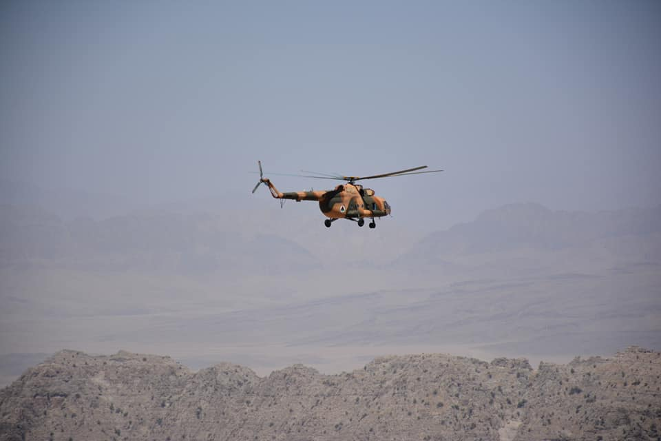 Six insurgents killed and 5 wounded in ANA airstrikes in Qarabagh and Malistan districts of Ghazni Province.