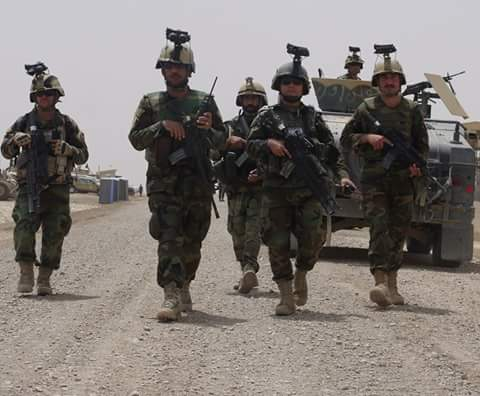 Two insurgents killed, 2 arrested, 1 vehicle, 1 motorbike, 3 kg opium and some weapon and ammunition were seized in ANA response attacks in Nad Ali district of Helmand