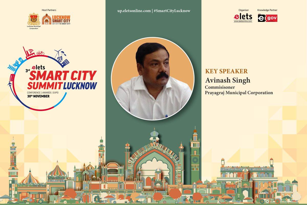 test Twitter Media - We welcome Avinash Singh, Commissioner, Prayagraj Municipal Corporation as a key speaker at #smartcitylucknow to be held on Nov 30.  For more info visit: https://t.co/rHaOMH2X29  @ArpitKGupta @LkoSmartCity https://t.co/xD5vpFzozM