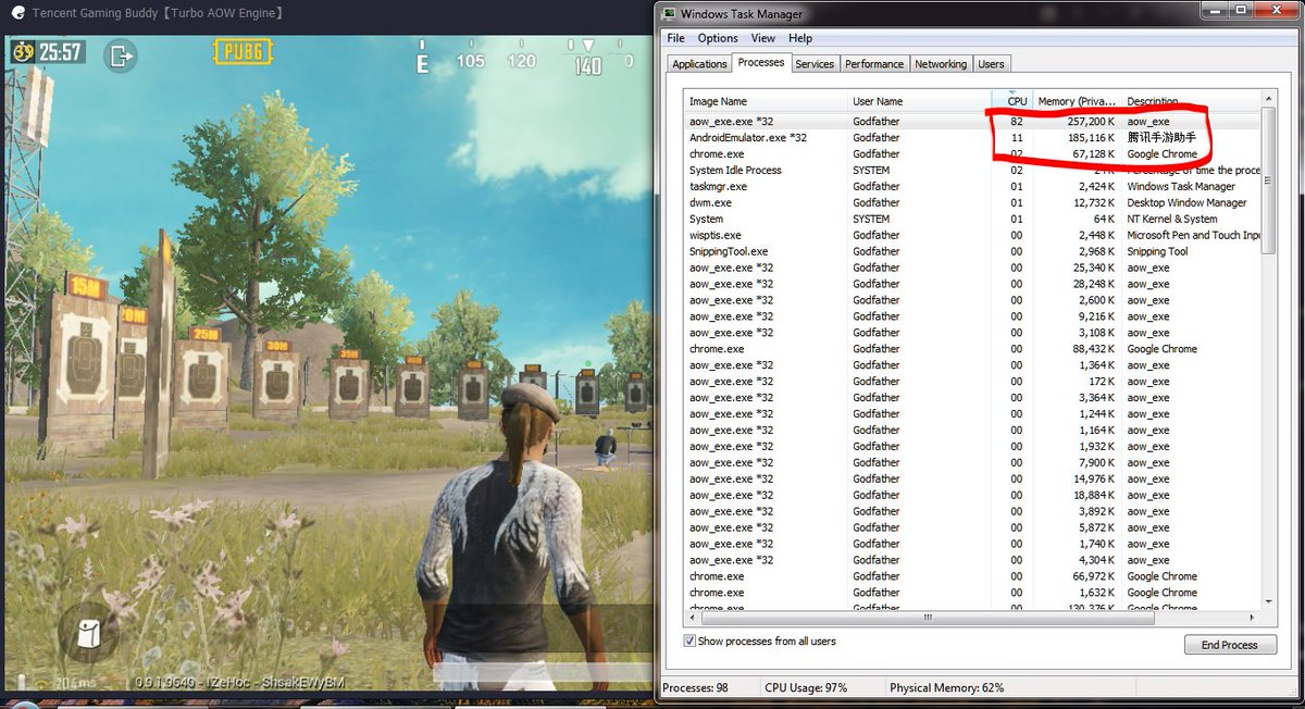 Update Pubg Mobile 0 13 Emulator Tencent Gaming Buddy Fix 100 Cpu