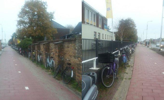 Collegevragen inzake fietsenstalling bushalte Nieuweweg https://t.co/xRoTSLjpSP https://t.co/WgL17wBsA3