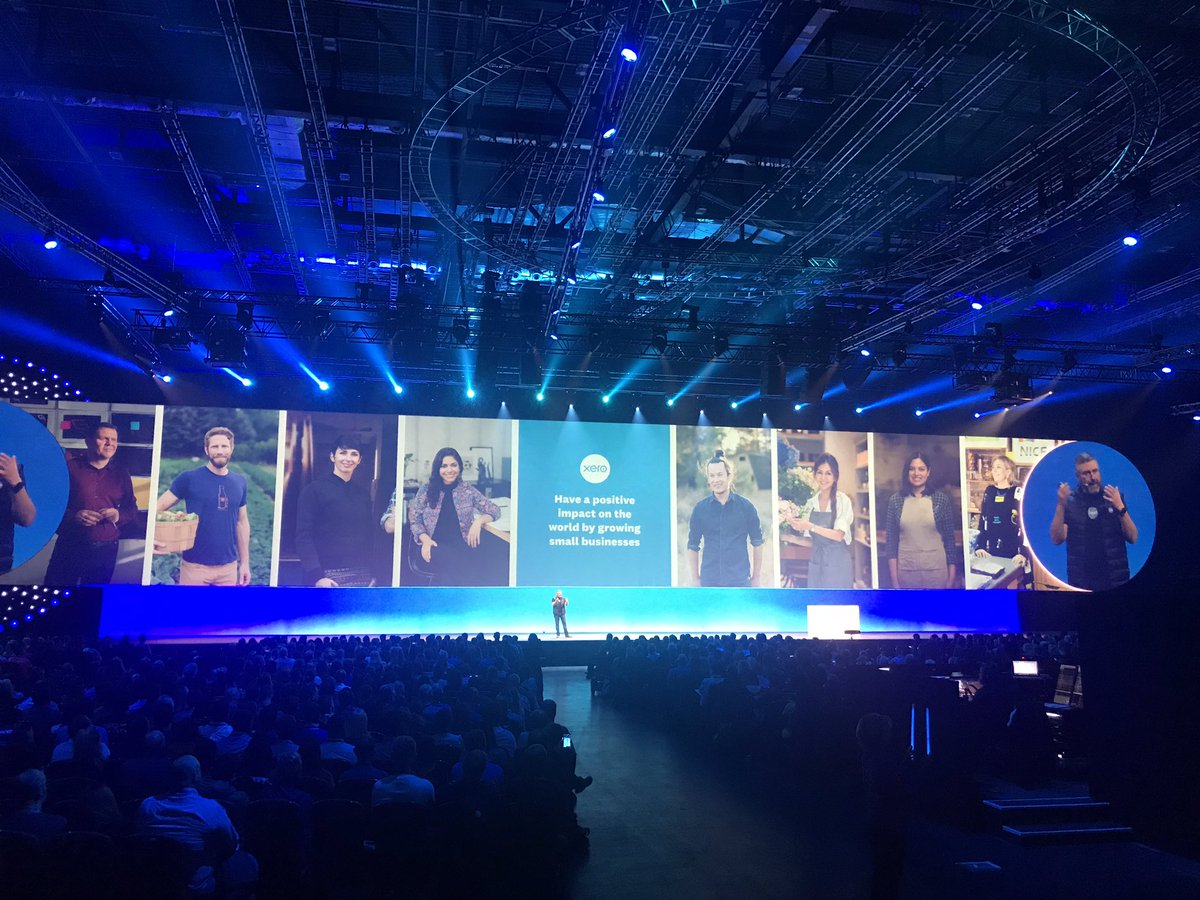 """test Twitter Media - """"Have a positive impact on the world by growing small businesses"""" @garyturner #Xerocon https://t.co/qVVMlVv2G9"""