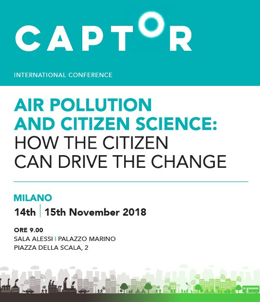 """test Twitter Media - Don't miss today Conference """"Air pollution and citizen science"""".  14-15 nov Milan, Italy.  @CAPSSIEU @EU_H2020 Program here 👉 https://t.co/zS3Nwm4qRc https://t.co/zg8ea6L81k"""