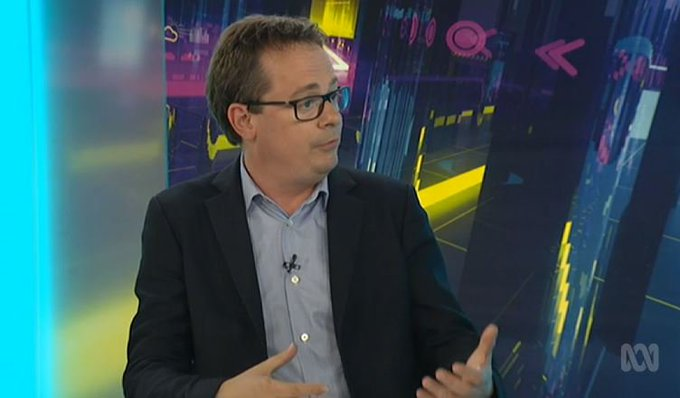 """Clearly one of the reasons that people voted to leave was that they wanted an end to that immigration. But if you end that immigration, what are you going to do with the people already there? No-one has an answer to that question yet."" @mds49 on Brexit #auspol #TheDrum Photo"
