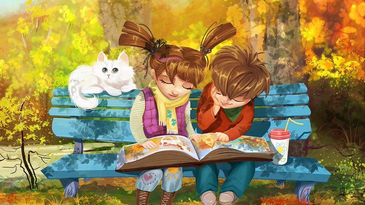 картинки с рисованием и чтением кажется минусы