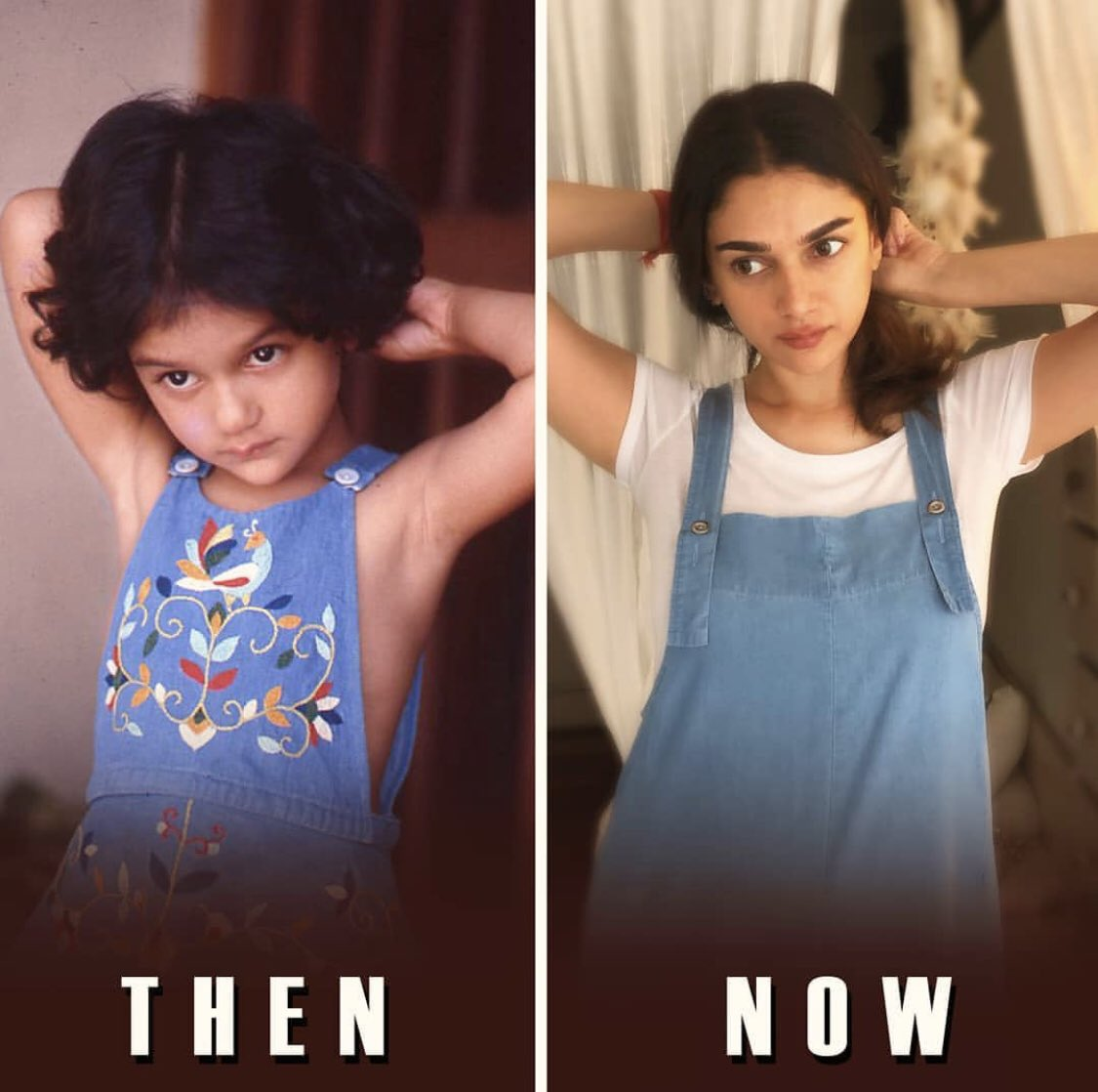Always a poser! @aditiraohydari shares a #throwback picture on the occasion of #ChildrensDay.