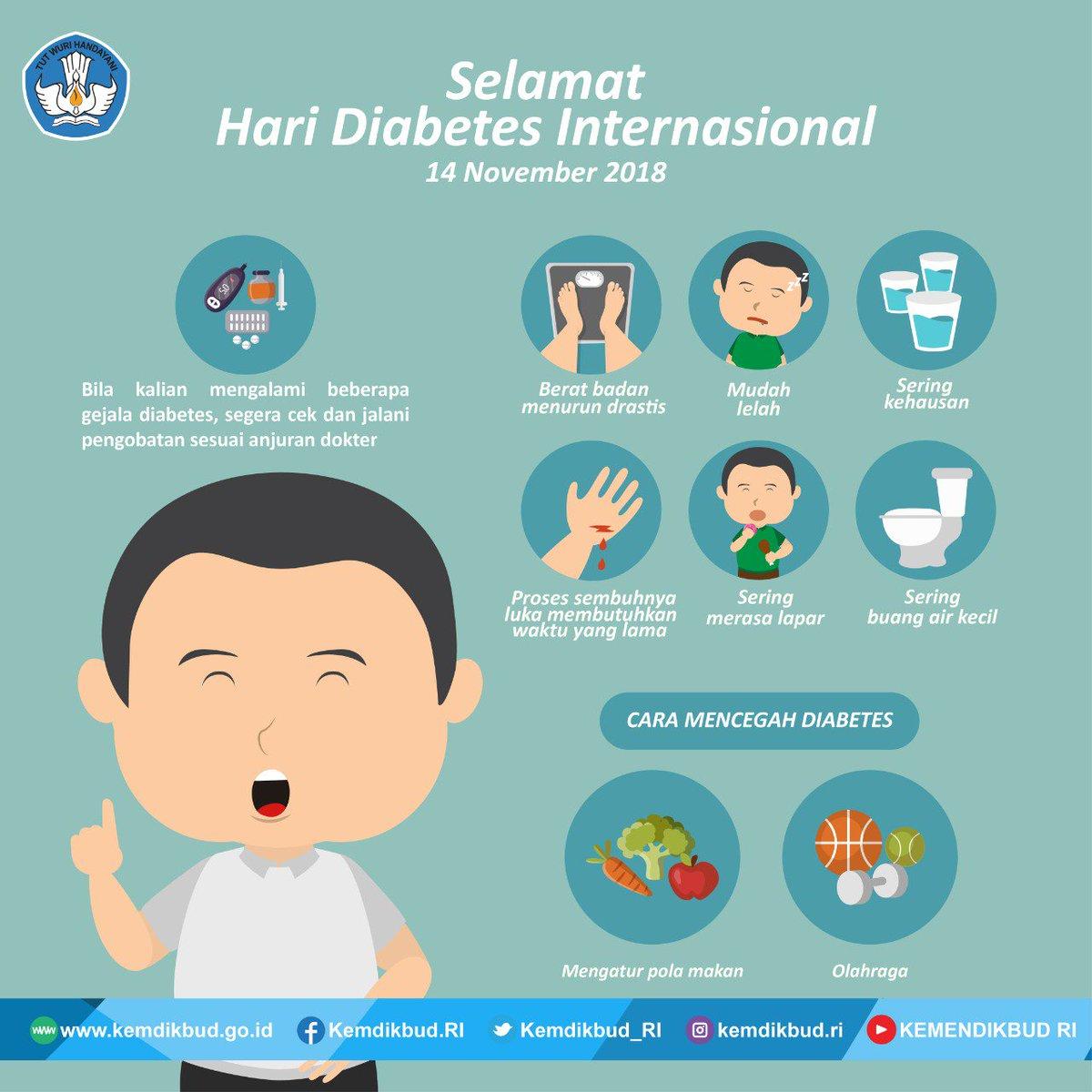 diabetes mencegah gejala