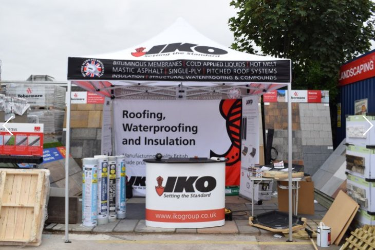 You've heard of @theNRFC #Safe2Torch campaign but how can you follow the recommendations? Pop in to @mkmbs #Norwich this morning for a LIVE demonstration of IKO Easyseal Pro for an easy way to avoid roof fires.