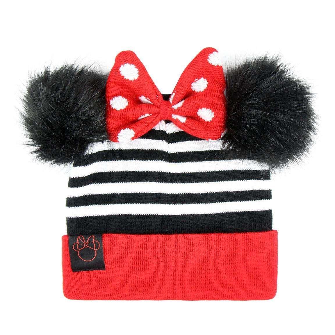 2edfe109b4fd4 Śliczna czapka jesienna / zimowa dla dziewczynki Myszka Minnie 😍 Idealny  dodatek do jesiennej bądź zimowej