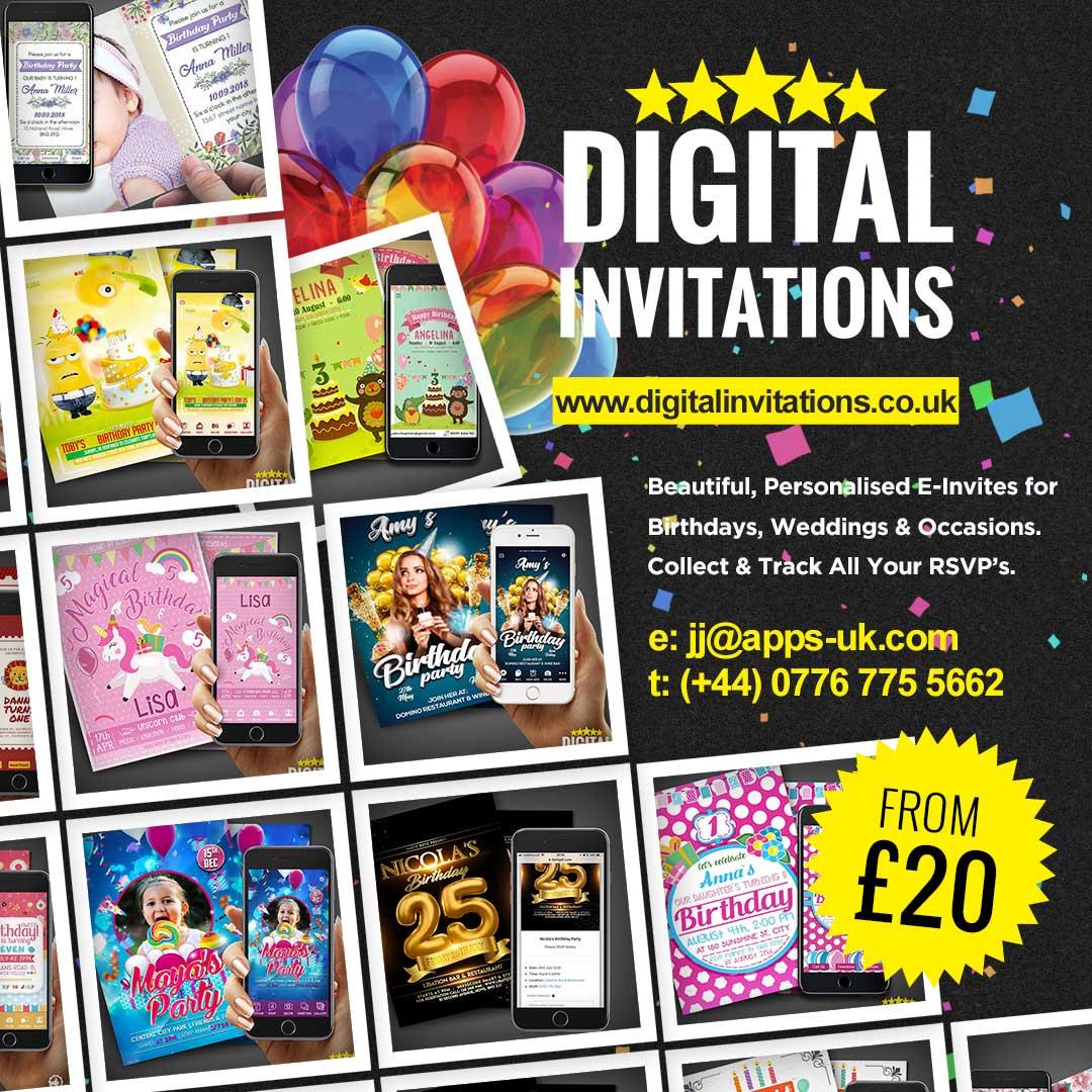Digital Invitations Diginvite