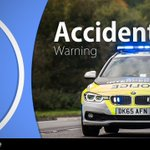 #M6  - RTC  Between J33 and J32 Southbound   2 Vehicle RTC - 1 car on the H/S the other veh is in the central reservation.  Matrix set and @LancsRoadPolice #MN31 & @HighwaysNWEST  attending.