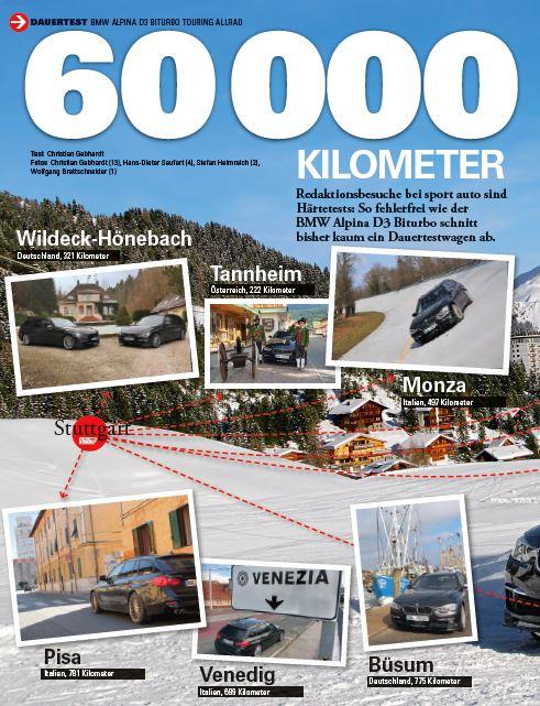 Vielseitig, Zuverlässig, Souverän. Der BMW ALPINA D3 Bi-Turbo Touring im 60.000 Kilometer Dauertest bei der Sportauto: http://bit.ly/Dauertest_BMW_ALPINA_D3_BT…