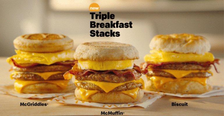 The @McDonalds Triple Breakfast Stack #FTW #ImLovinIt <br>http://pic.twitter.com/kl3C7iC9nc