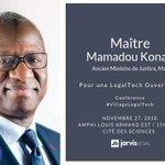 Image for the Tweet beginning: Nous sommes honorés d'accueillir Maître