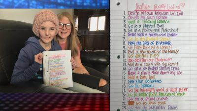 Fox 13 News Utah On Twitter Hey Cw Riverdale Help Us Fulfill This Girl S Bucketlist 15 Year Old Utah Girl Battling Tumor Creates Bucket List Meeting Riverdale Cast Is On It Https T Co 1emgqqvk9g Djbolerjack Https T Co Kfhk3f1uli