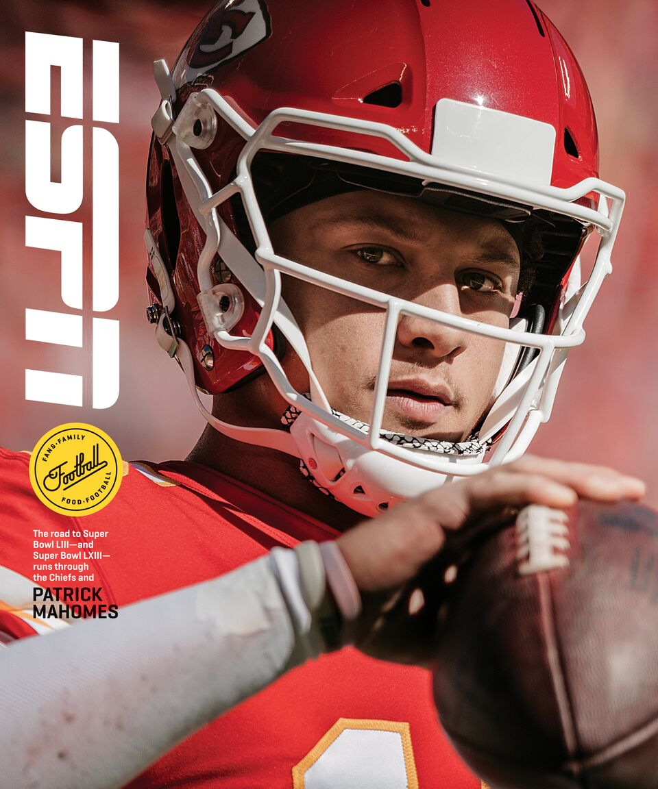 Not only are @PatrickMahomes5 and @JaredGoff16 facing off on Monday night, theyre the latest athletes to land ESPN The Magazine covers.