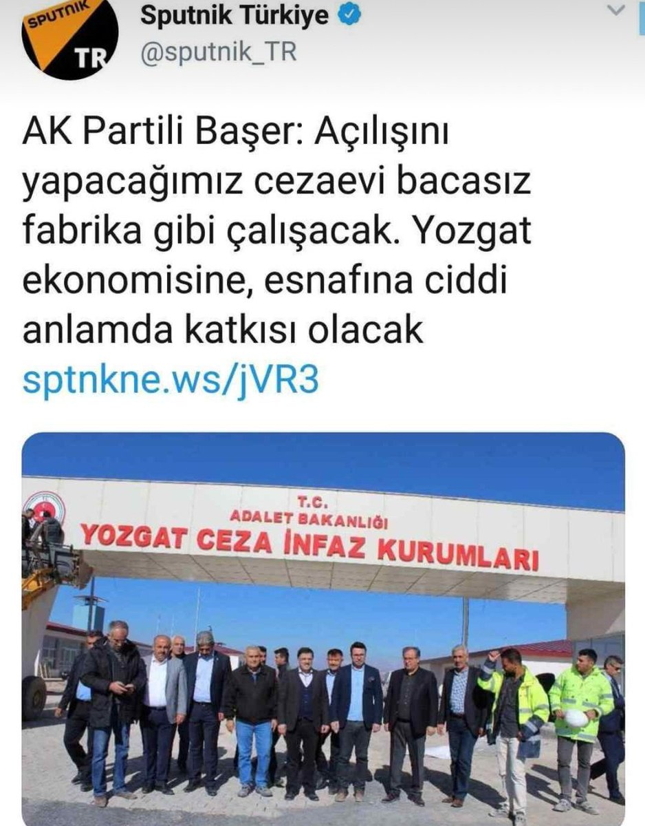 AK Partili Başer: Açılışını yapacağımız cezaevi bacasız fabrika gibi çalışacak, ekonomiye katkı sağlayacak 54