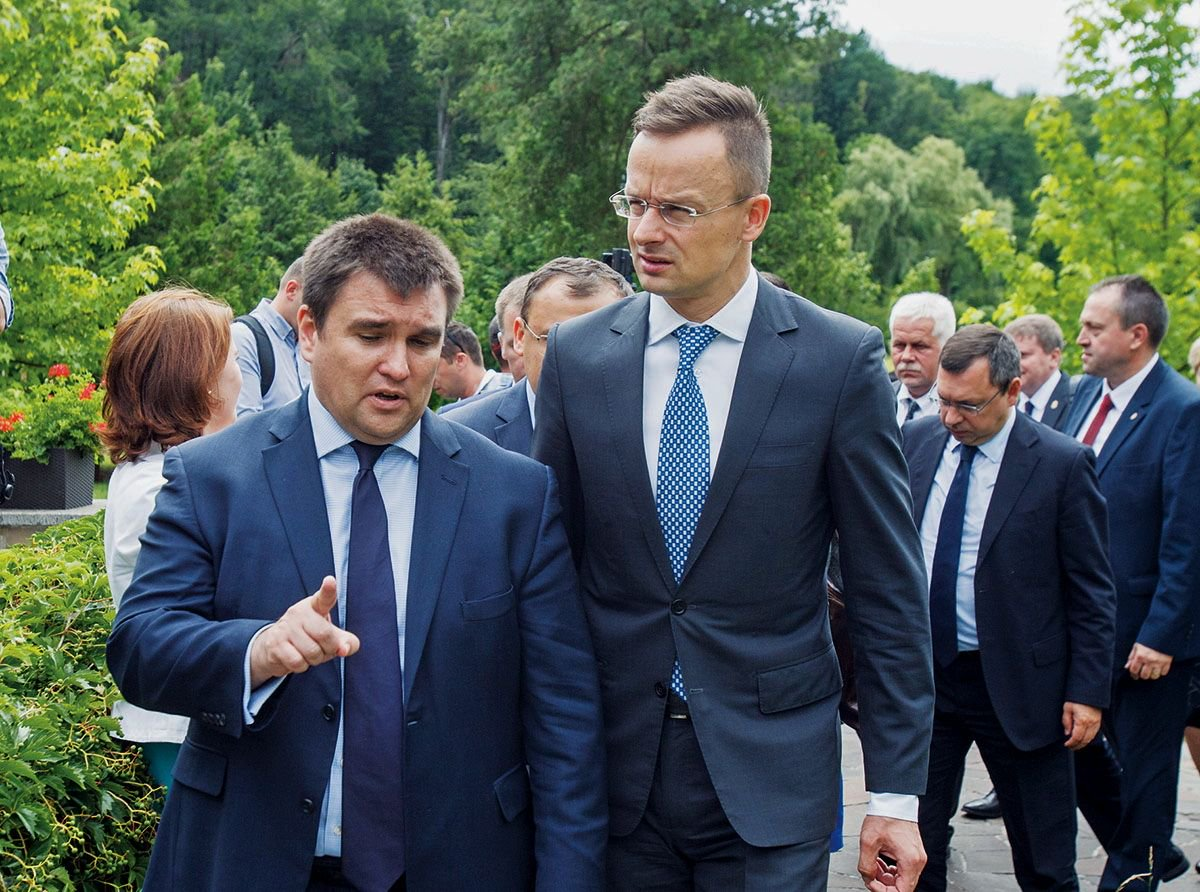 "Ukraine's FM  tells Kyiv Post: ""Fore@PavloKlimkinign policy is about values, about principles and also about the personal touch.""  The foreign minister carries out a lot of his diplomacy abroad and on Twitter, where he has 332,000 followers."
