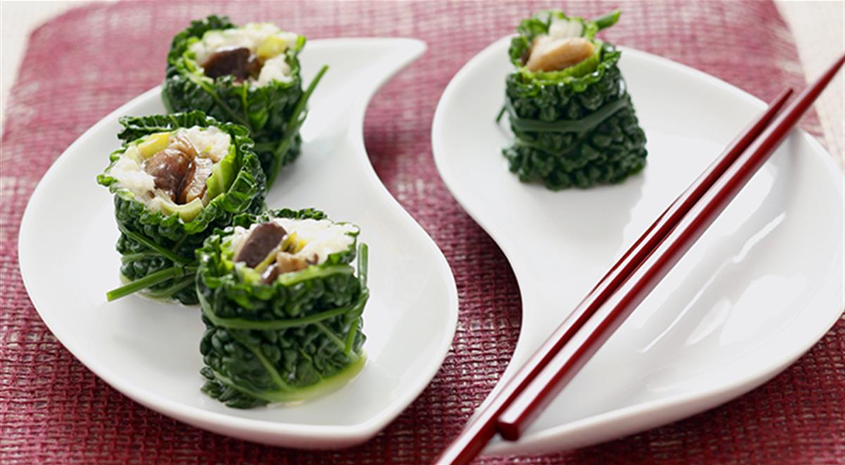 Savoy Cabbage with Rice and Mushroom Stuffing https://t.co/X3eBnmr1zJ https://t.co/beMgnRYcPi