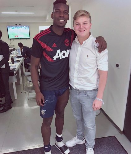Photo: Pogba and Pavel Nedved&#39;s son at the Allianz Stadium last week #mulive [ig pavelnedvedjr] <br>http://pic.twitter.com/rDvQiUXfQ0