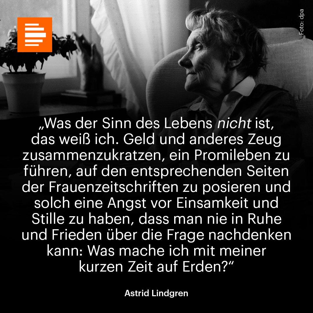 Heute wäre die Schriftstellerin Astrid Lindgren 111 Jahre alt geworden. 🧡