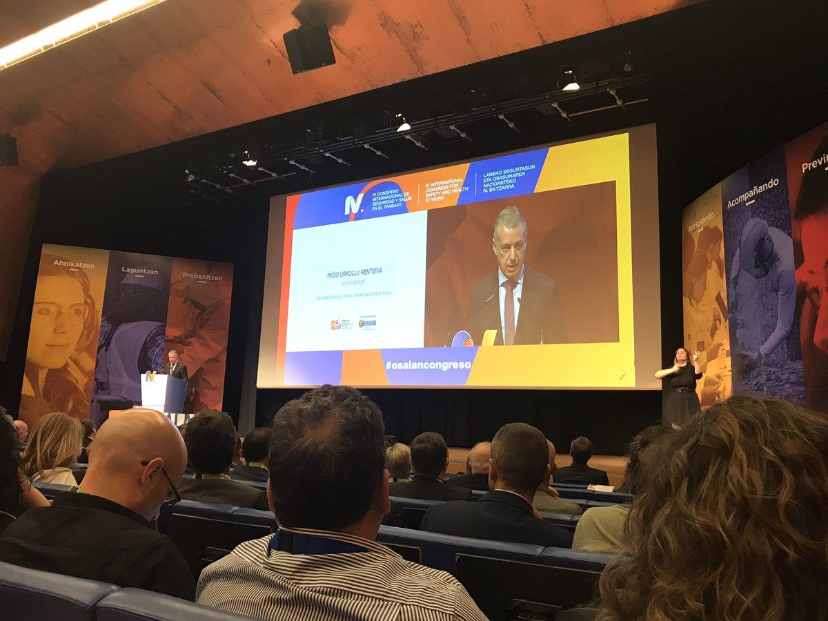 test Twitter Media - Iñigo Urkullu inaugura el #osalancongreso en Bilbao, 3 días para compartir, aprender y encontramos con amigos y colegas @osalanEJGV https://t.co/FoqRCoDy5p