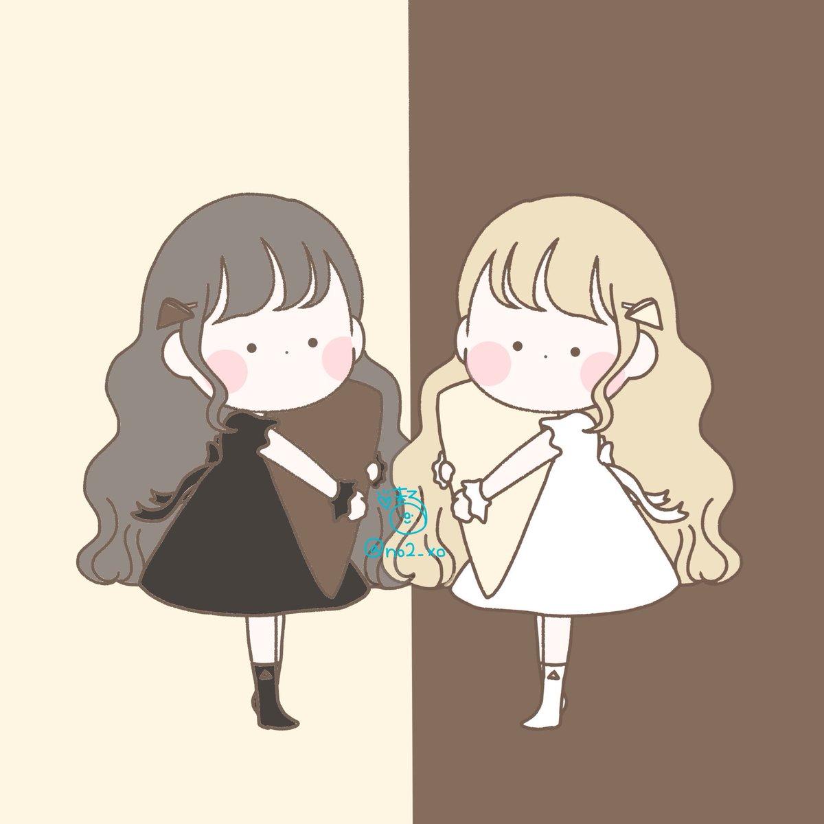 三角チョコパイ△▲白と黒どっちがすき??