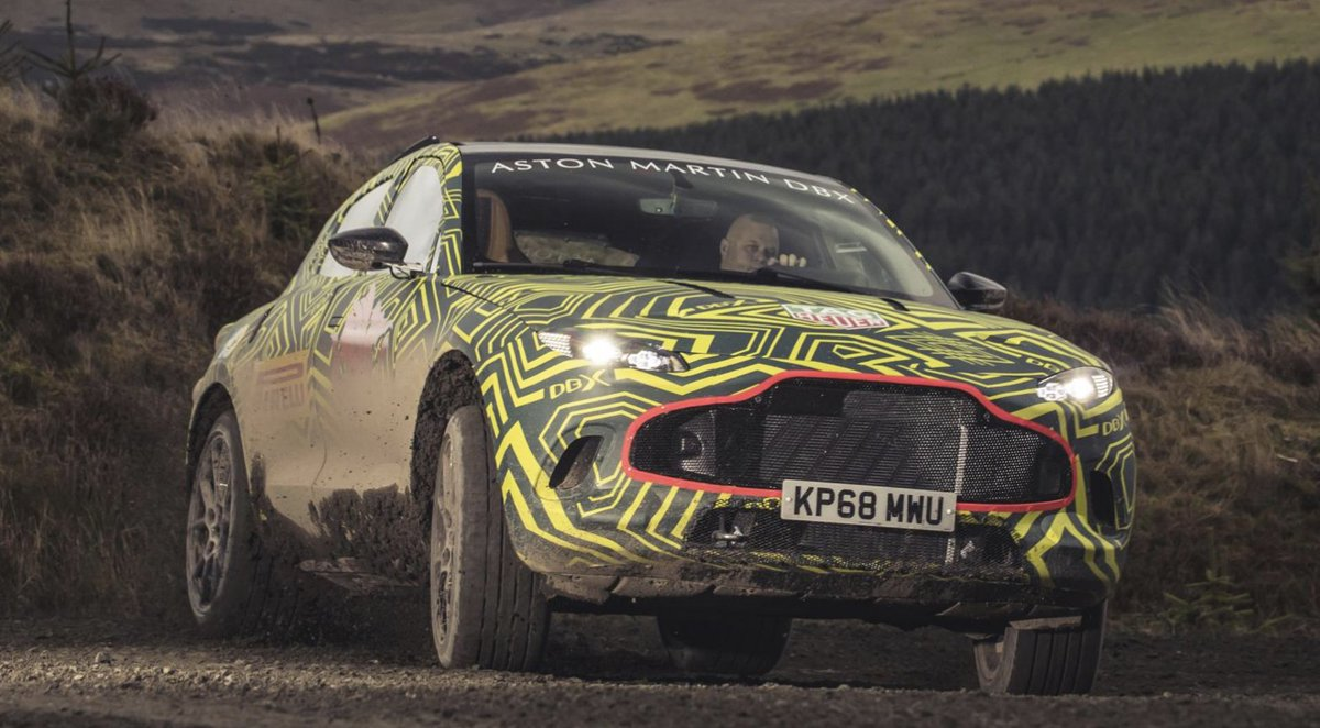 Aston Martin's SUV will be called DBX and it's testing in Wales. Like it? topgear.com/car-news/briti…
