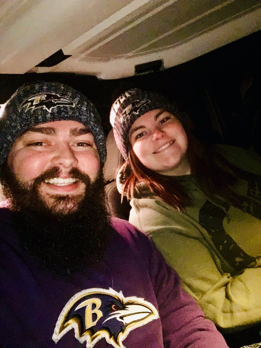 On our way to Baltimore from KY to see my @Ravens for the first time! Been a fan as long as I can remember, now it's finally here! #RavensFlock <br>http://pic.twitter.com/oy18NfpWcn