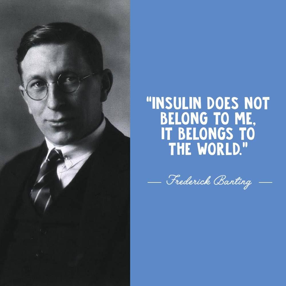 Today is Banting's 127th birthday!🎈🎉  #WorldDiabetesDay #Insulin4all #DiabetesAwarenessMonth