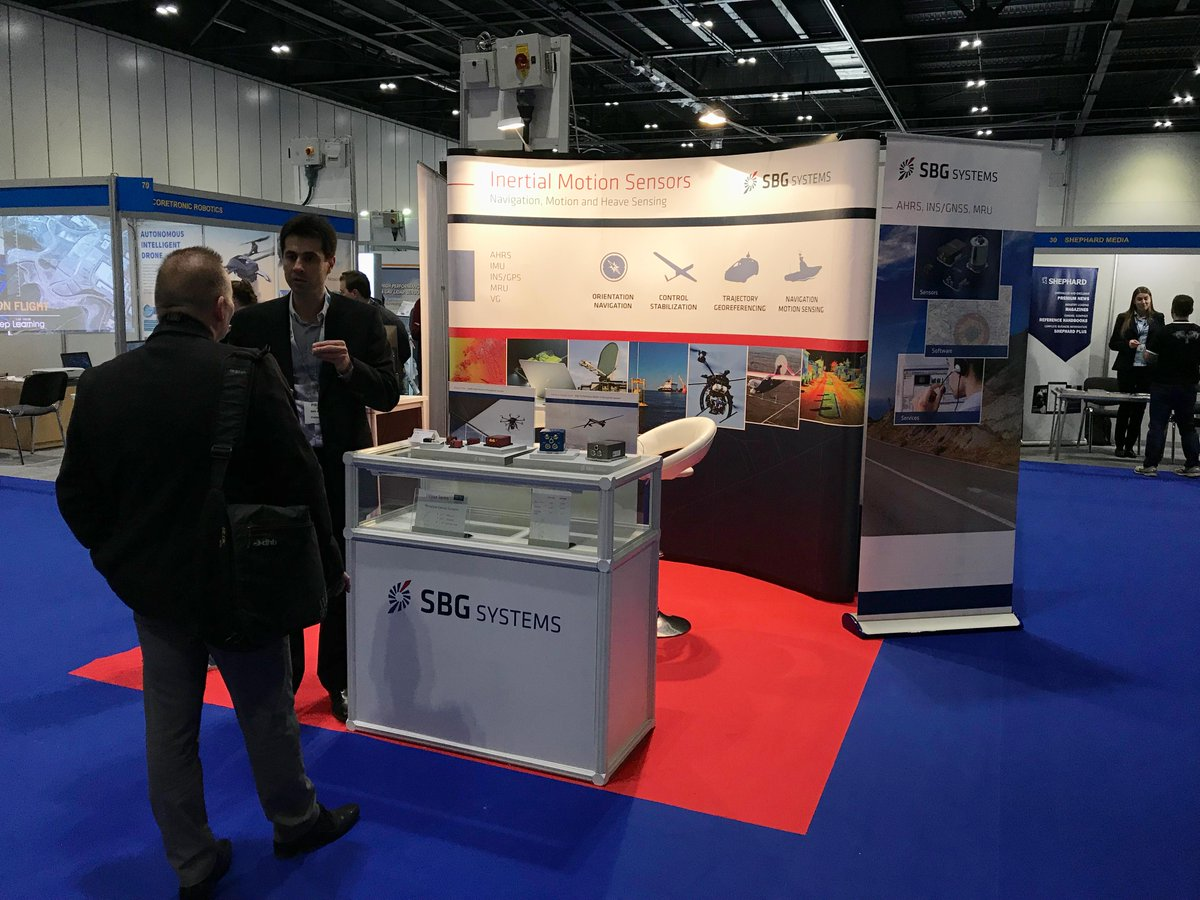 We are here to advise you on the best motion and navigation system for your UAV, visit us stand #39 during Commercial UAV Expo @totalunmanned #UAVshow