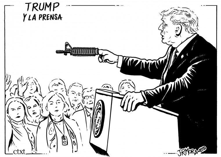 El @JRMora de hoy: Trump y la prensa bit.ly/2RVj9mc