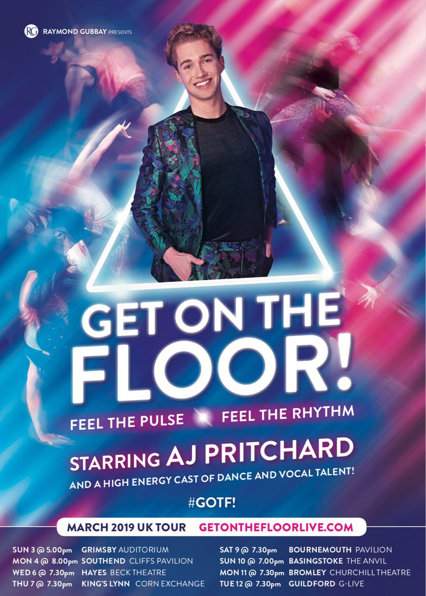 Aj Pritchard On Twitter Tickets Are Now On Sale For Get On The