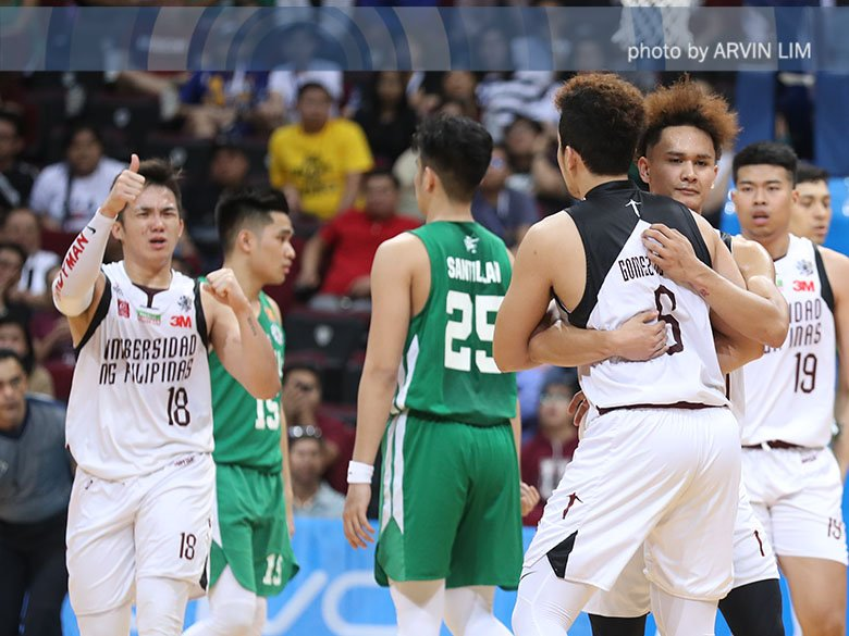 #UAAPSeason81: UP tops La Salle to take first Final Four spot since 1997 https://t.co/ey5V3TiJ4u