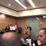 İsrail Savunma Bakanı Twitter Photo
