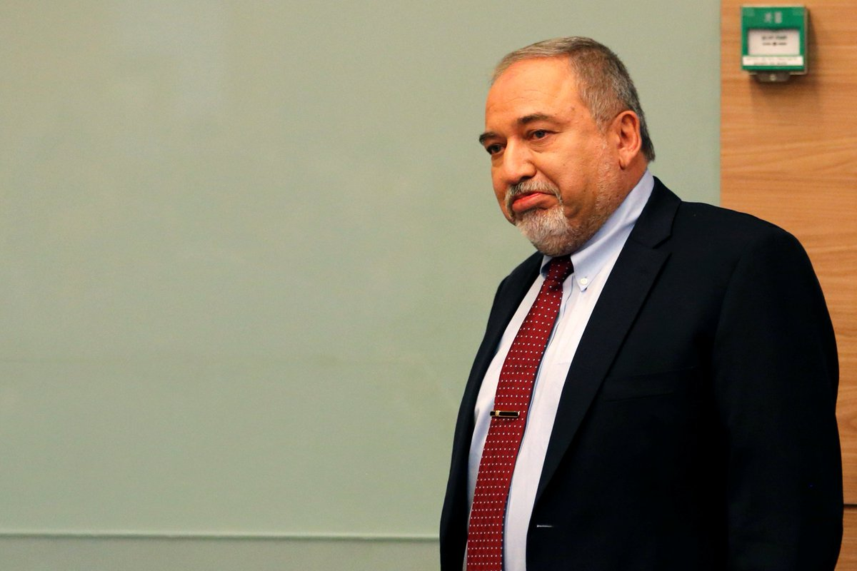JUST IN: Israeli Defence Minister Avigdor Lieberman has announced that he was resigning from the conservative coalition government of Prime Minister Benjamin Netanyahu in protest at the Gaza ceasefire deal.  https://t.co/nxEMasvgng