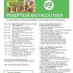 Image for the Tweet beginning: Miten monipuolinen ohjelma Reseptejä biotalouteen