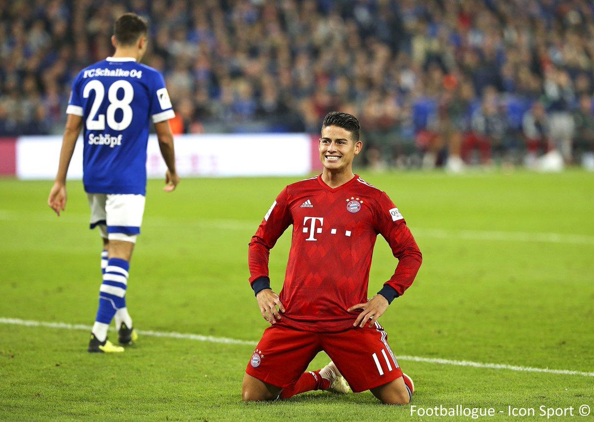 [#Bundesliga🇩🇪] OFFICIEL !  Le Bayern vient d'annoncer que James Rodriguez🇨🇴 s'est déchiré le ligament du genou gauche à l'entraînement hier. L'ancien monégasque devrait être absent plusieurs semaines.