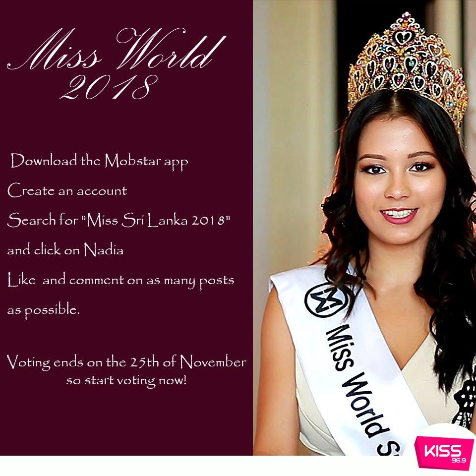 Kiss Fm Sri Lanka On Twitter Help Miss Sri Lanka Nadia Gyi