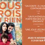 #noustroisourien Twitter Photo