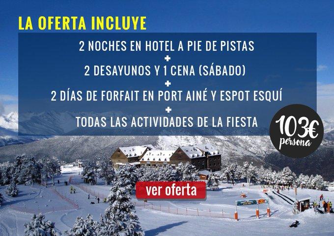 15 años, toda una vida de relación entre @Esquiades y #PortAiné @SkiPallars y lo festejan a lo grande 🥳 Más info en: https://t.co/k77Luraet1
