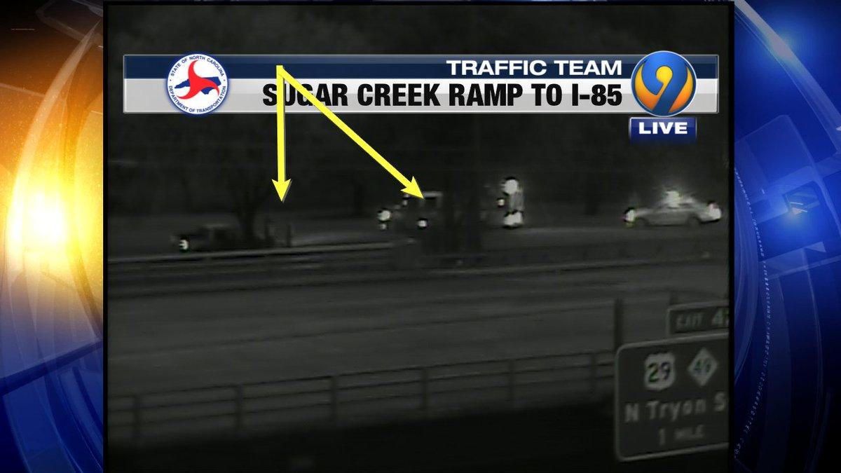 UPDATE: Sugar Creek ramp to I-85 NB wreck #cltraffic #clttraffic #clt<br>http://pic.twitter.com/C99jV0CXZU