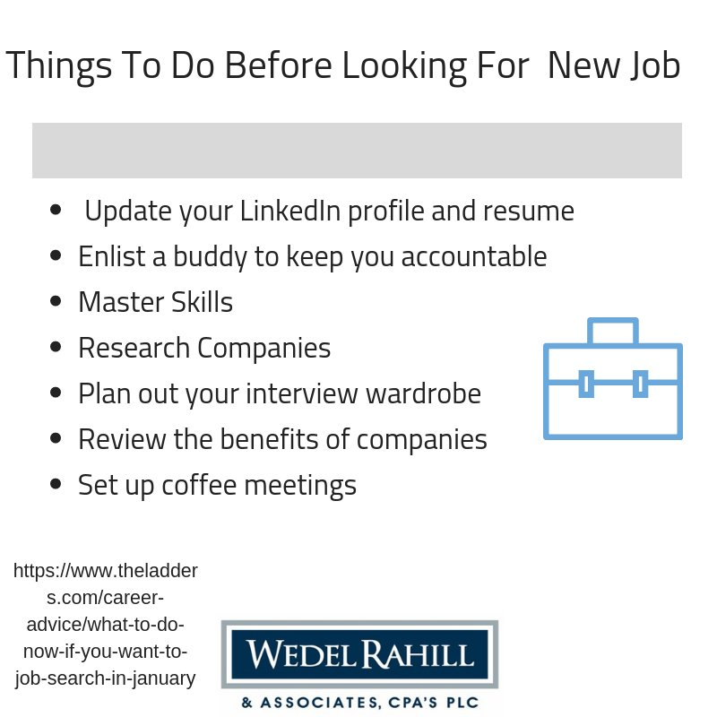 Wedel Rahill Cpa S On Twitter Are You Looking For A New