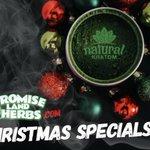 Christmas specials on Kratom, CBD, and MORE!!!! Visit us today! https://t.co/FzUgOaQ4eV #hemp #cbd #kratom #keepkratomlegal #promiselandherbs #smokeablecbd #christmasspecials