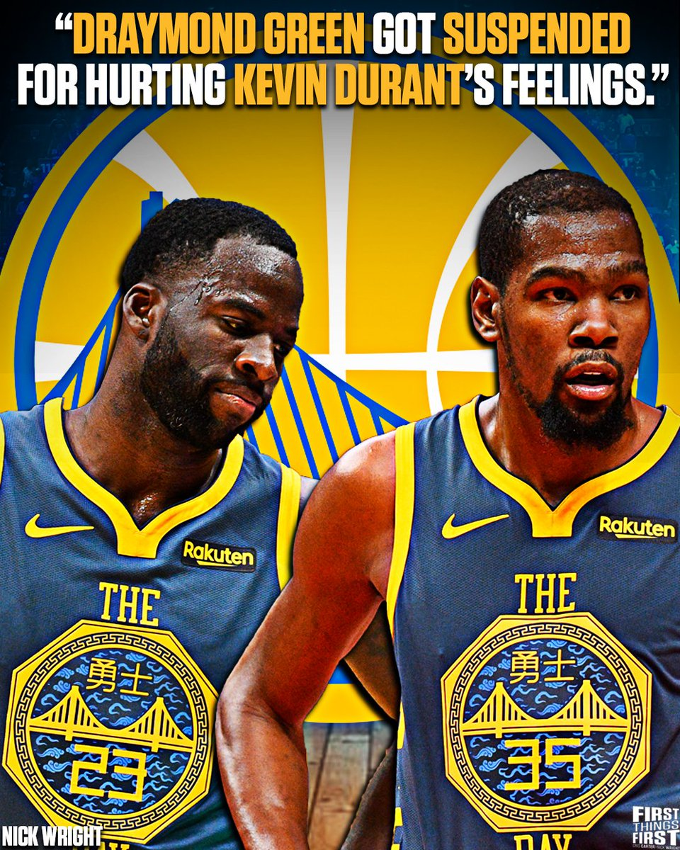 This is all about the Warriors trying to make sure KD knows we need you man, we got your back.