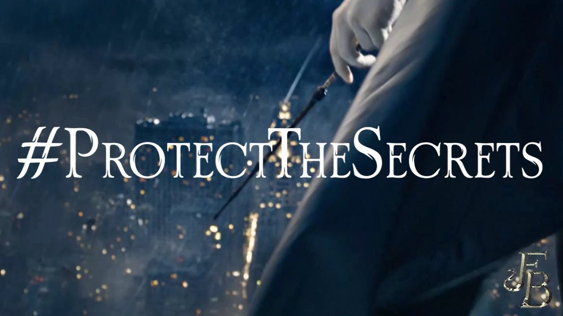 As we race towards #FantasticBeasts: The Crimes of Grindelwalds release this Friday, remember to #ProtectTheSecrets.