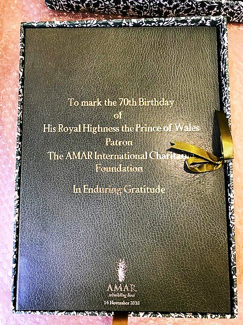 test Twitter Media - A very happy 70th birthday to our @AMARLondon Patron, His Royal Highness, the Prince of Wales! Prince Charles takes a huge interest in our award-winning work across the Middle East. @ClarenceHouse https://t.co/XQETlXMGmX